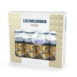Vodka Czechoslovakia 40% SET MINI