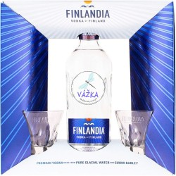 VODKA Finlandia 40% + poháre