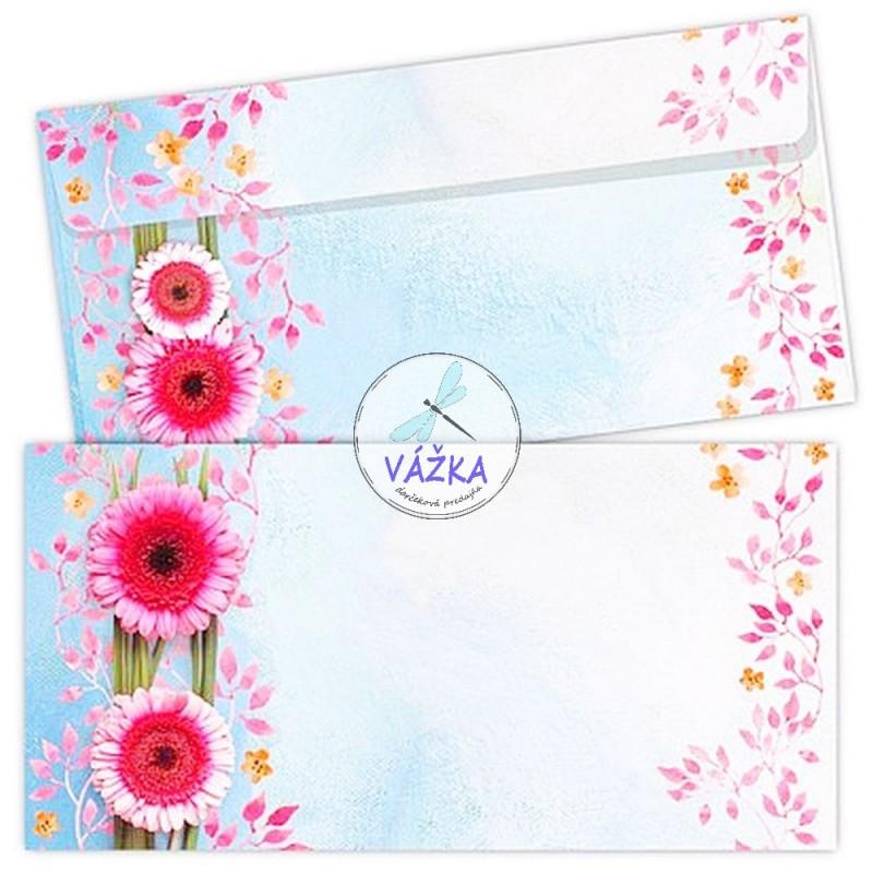 Darčeková karta GERBERA s obálkou