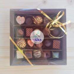 Exkluzívna čokoládová kazeta - PRALINKY