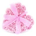 Mydlový kvet Ružová ruža srdce