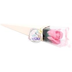 Mydlový kvet stredne veľká ruža v krabičke