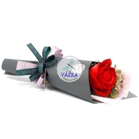 Mydlový kvet - Kytica - Ruža