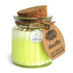 Sójová vonná sviečka Vanilka